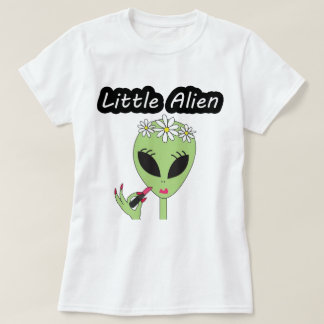 Women- Lipstick Alien T-Shirt
