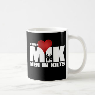Women Love Men in Kilts Mug