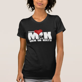 Women Love Men in Kilts T-Shirt