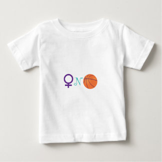 Women-N-Basketball Baby T-Shirt