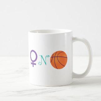 Women-N-Basketball Basic White Mug