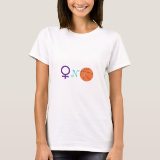 Women-N-Basketball T-Shirt