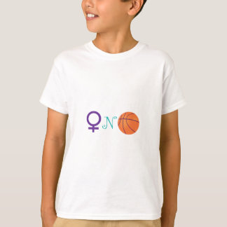 Women-N-Basketball T-Shirt