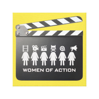 WOMEN OF ACTION canvas ART