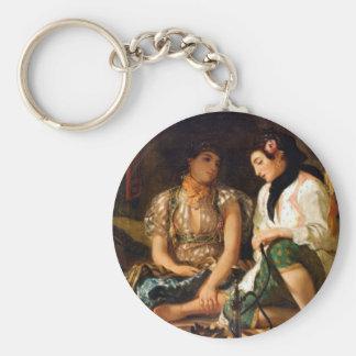 Women of Algiers Basic Round Button Key Ring