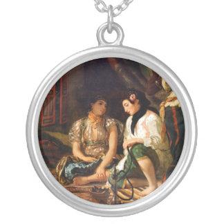 Women of Algiers Round Pendant Necklace