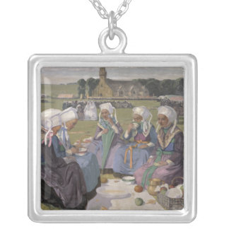 Women of Plougastel Silver Plated Necklace