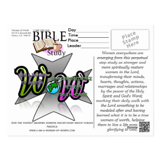 Women of Worth Postcards