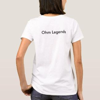 Women Ohm Shirt w/ logo on top left