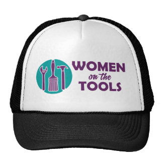 Women on the Tools logo Cap