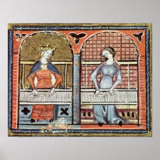 Women,Ovide Moralise written by Chretien Legouais Poster