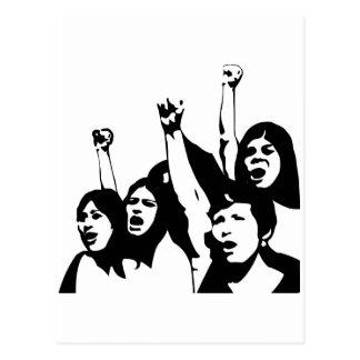 Women Power Postcard