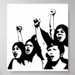 Women Power Poster