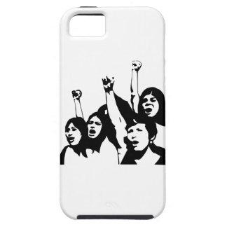 Women Power Tough iPhone 5 Case