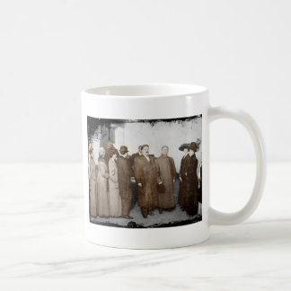 Women Registering to Vote Basic White Mug