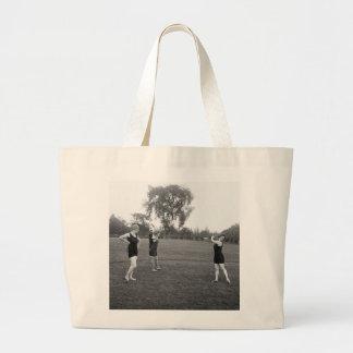 Women s 1920s Golf Fashion Tote Bags