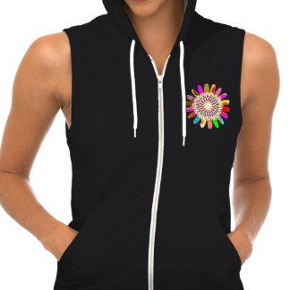 Women s AA California Fleece SleeveLESS CHAKRA T-shirts