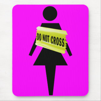 Women s attitude just for women mouse pads