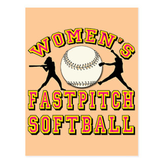WOMEN S FASTPITCH SOFTBALL POST CARDS