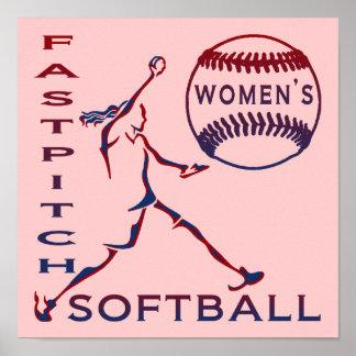 Women s Fastpitch Softball Print