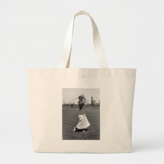 Women s Golf Fashion 1910s Canvas Bags