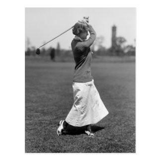 Women s Golf Fashion 1910s Post Card