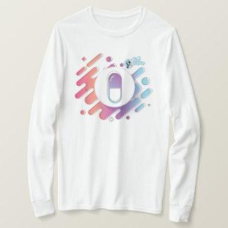 Women's Gradient Pill. Long Sleeve T-Shirt