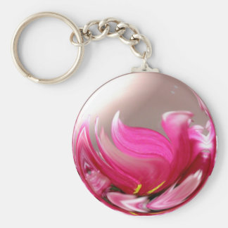 Women's History Month Basic Round Button Key Ring