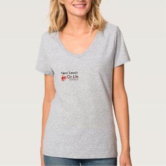 Women's Large NLOL Logo T-Shirt – Gray