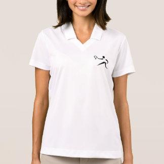 Women s Polo Shirt with TENNIS Insignia