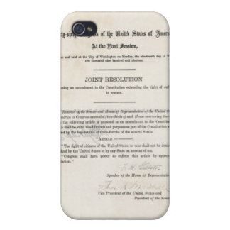 Women s Right to Vote- 19th Amendment Covers For iPhone 4