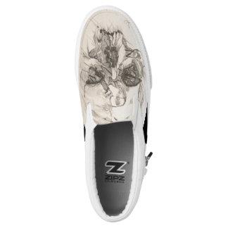 Women's Skull Shoes