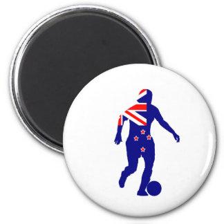 Women s Soccer New Zealand Fridge Magnet