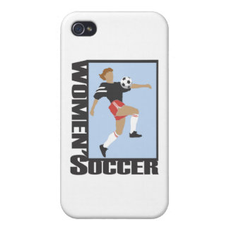 Women s Soccer T shirts and Gifts iPhone 4 Cases