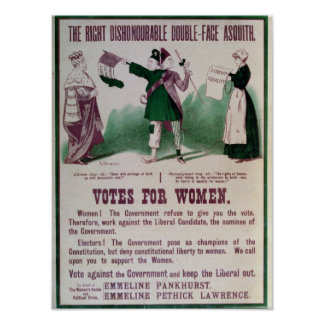 Women s Suffrage Poster