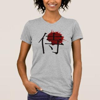 WOMEN SAMURAI KANJI ---侍--- T-Shirt