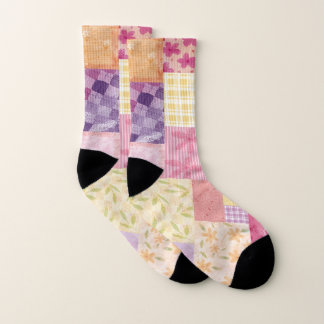 Women Small All-Over-Print Socks 1