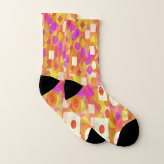 Women Small All-Over-Print Socks 1