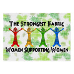 Women Supporting Women Large Business Cards (Pack Of 100)