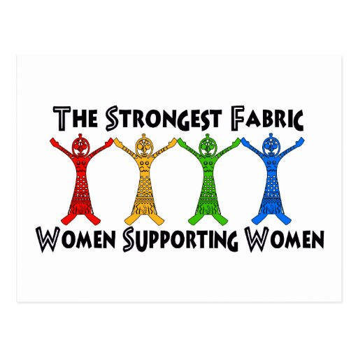 Women Supporting Women Post Card