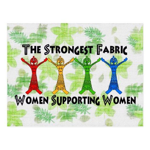 Women Supporting Women Postcard