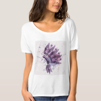 Women tee-shirt Feathers ImaginAIR T-Shirt