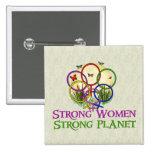 Women United 15 Cm Square Badge