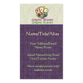 Women United Pack Of Standard Business Cards