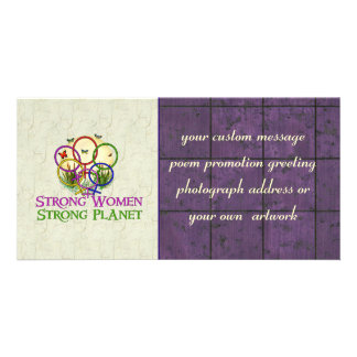 Women United Photo Greeting Card