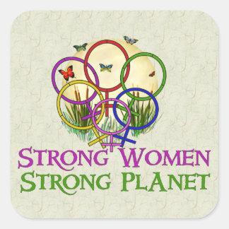 Women United Square Stickers