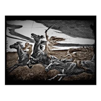 Women Viking Warriors Postcard