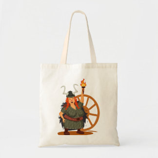 Women Vikings Rule Budget Tote Bag