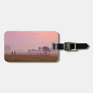 Women Villagers Luggage Tag