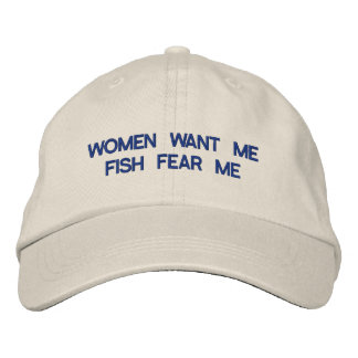 Women Want Me Embroidered Baseball Caps